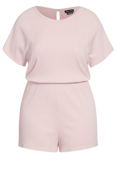 Layla Sleep Romper - rose