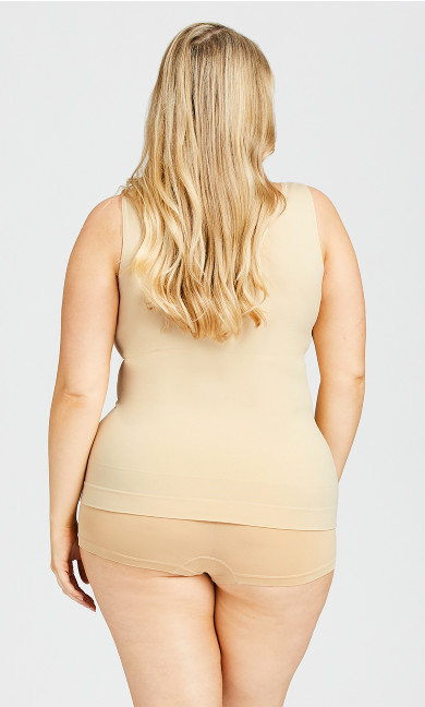 Seamless Shaping Cami - beige