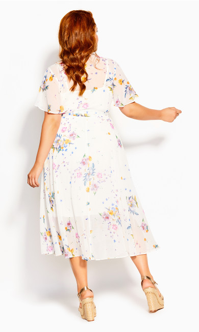 Summer Rose Dress - ivory