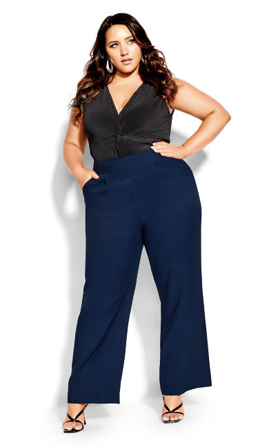 Draw The Line Pant - navy