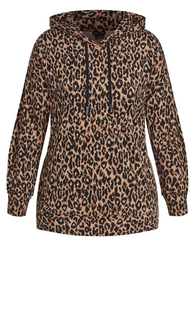 Animal Obsession Hoodie - leopard