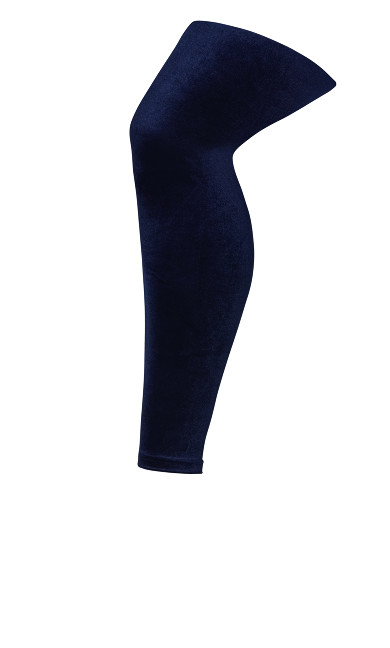 Velvet Legging - navy