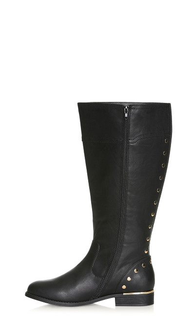 Jenny Tall Boot - black