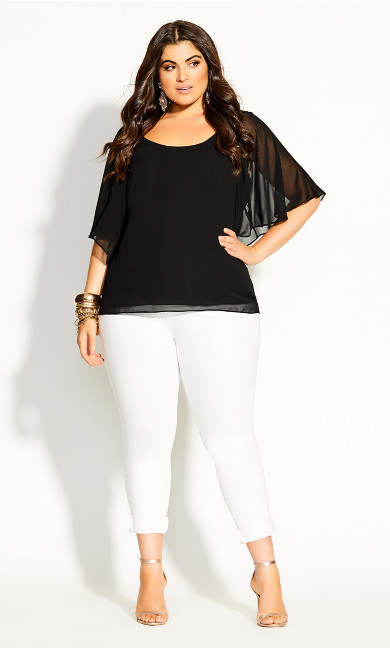 Spice Market Top - black