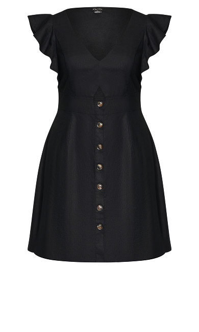 Wandering Dress - black