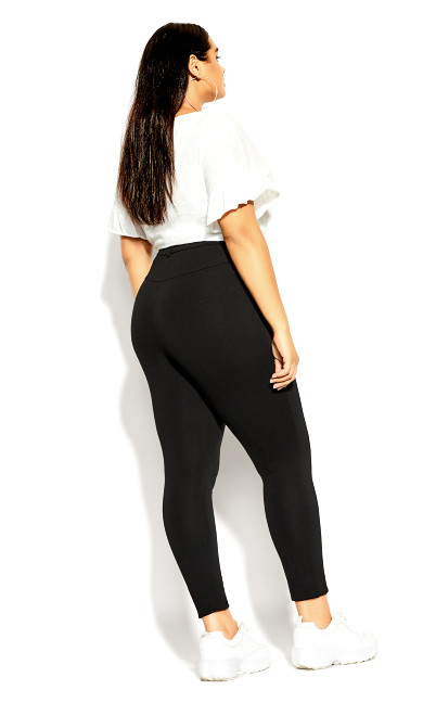 Subtle Pant Legging - black
