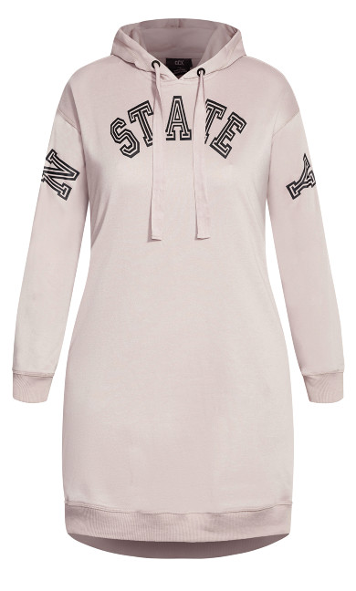 NY State Hoodie - dusty rose