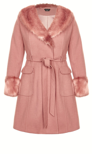 Make Me Blush Coat - blush