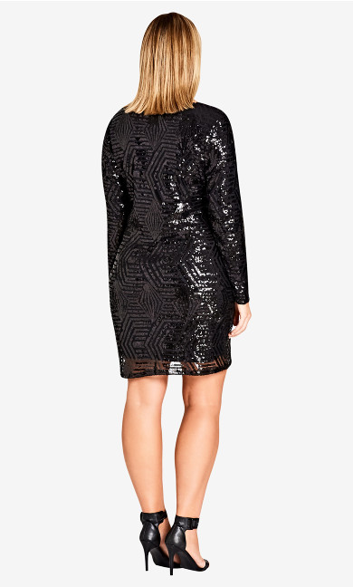 Bright Lights Dress - black