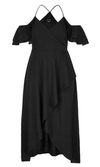 Miss Jessica Maxi Dress - Black