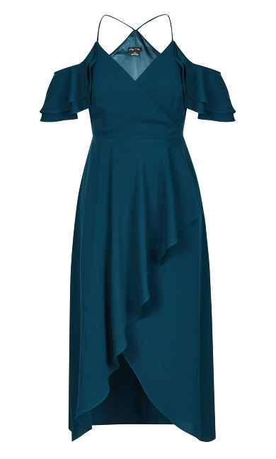 Miss Jessica Maxi Dress - Emerald