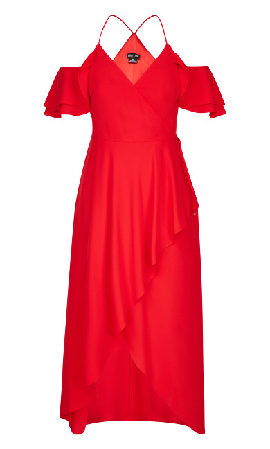 Miss Jessica Maxi Dress - scarlet