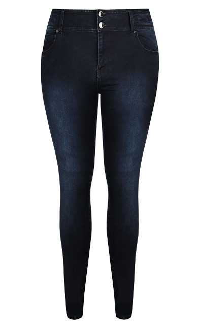 Harley Short Skinny Jean - denim