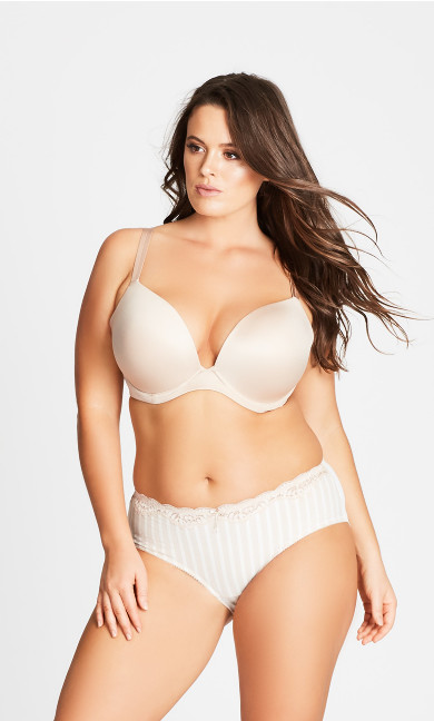 Adore Push Up Bra - latte