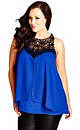 TOP LAYERED MOTIF - French Blue - 14 / XS