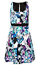 Women's Plus Size Oasis Floral Dress | City Chic USA