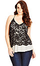 Rock Chic Lace Top