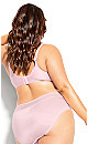Plus Size Bodycon Contour Bra - pink