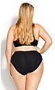 Plus Size Smooth Embrace Brief - black
