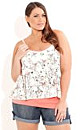 Layer Butterfly Top