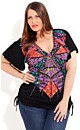 Sequin Inca Graffiti Top
