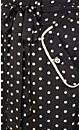 So Cute Spot Maxi Dress