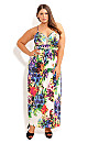 Tropical Bloom Maxi