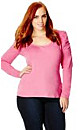 Colored Long Puff Sleeve Top
