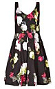 Women's Plus Size Midnight Floral Dress | City Chic USA