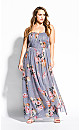 Whimsy Florence Maxi Dress - grey