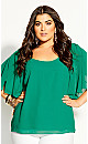 Spice Market Top - green