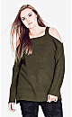 Chic Cut Out Jumper