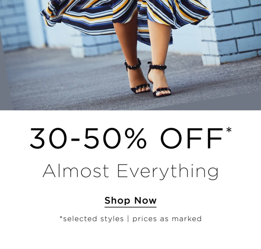 30-50% Off Almost Everything