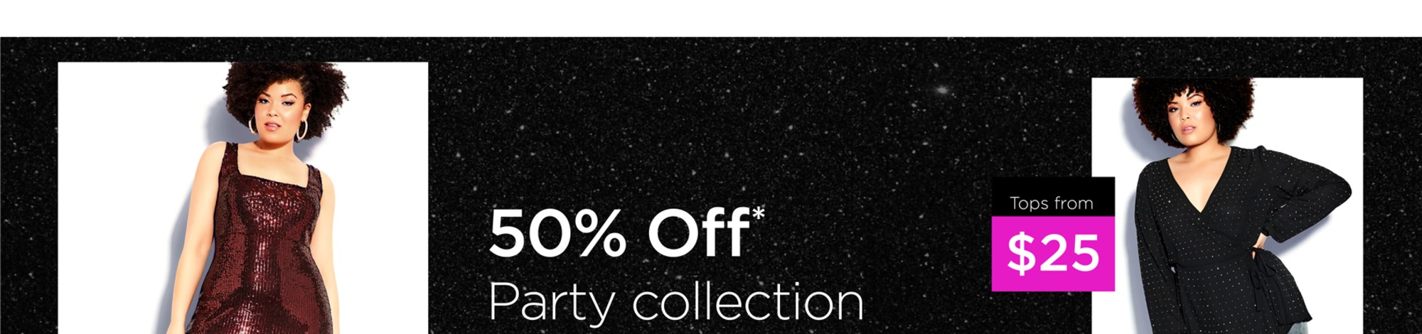 50% Off Party