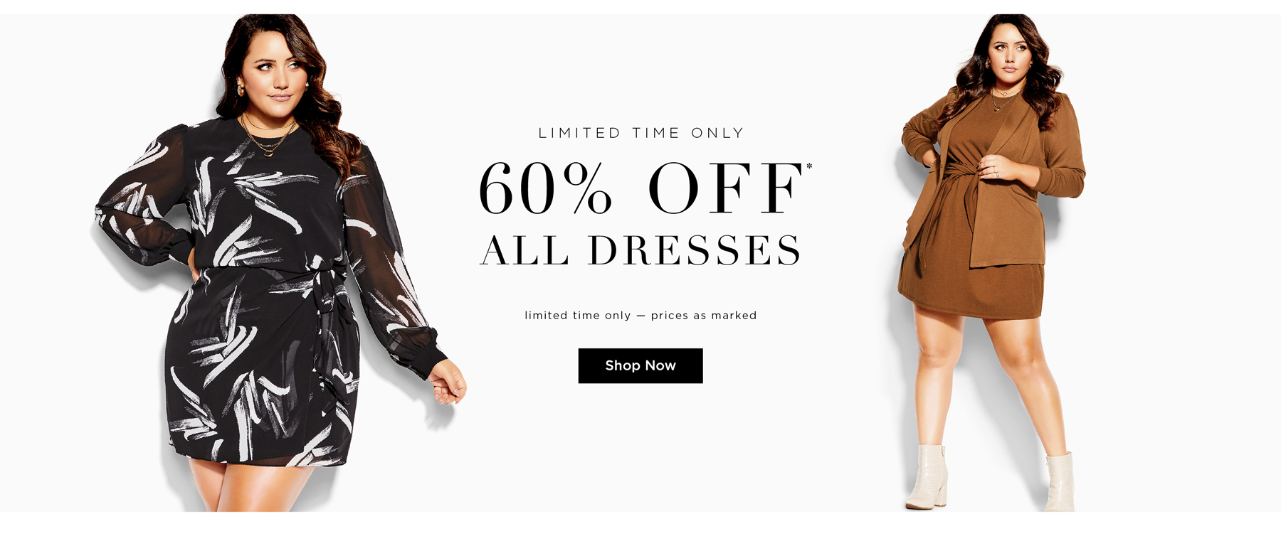 60% Off* All Dresses. Conditions apply. Shop Now.